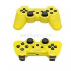 Gamepad Sony PS3 DoubleShock беспроводной желтый