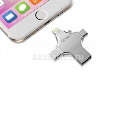 iFlash Device 128Gb для Apple iPhone/Micro USB/Type-C iDragon+